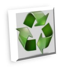 avviso plastica e giardini - spazzatura